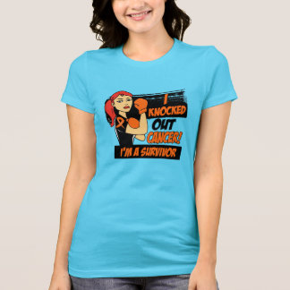 I Knocked Out Kidney Cancer Tee Shirts