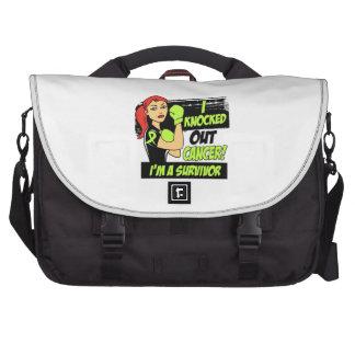 I Knocked Out Non-Hodgkins Lymphoma Cancer Laptop Commuter Bag