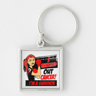 I Knocked Out Oral Cancer Key Chains
