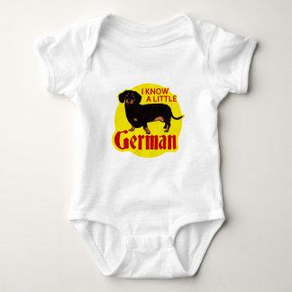 I Know A Little German Baby Bodysuit