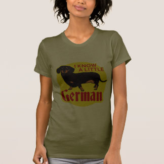 I Know A Little German T-shirt
