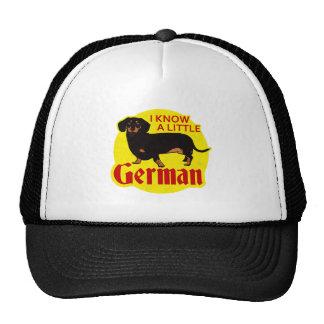 I Know A Little German Trucker Hat