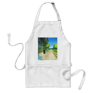 I Know Exactly Where To Go, To Get Lost Adult Apron