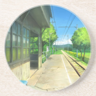 I Know Exactly Where To Go, To Get Lost Sandstone Coaster