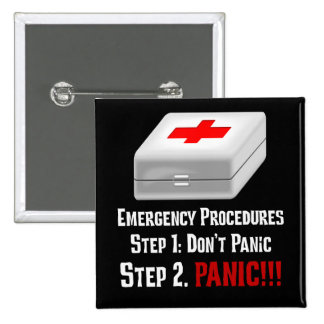 I Know First Aid & Can Respond to Your Emergency Button