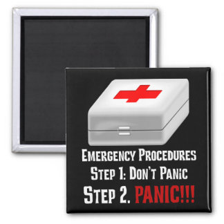 I Know First Aid & Can Respond to Your Emergency Magnet