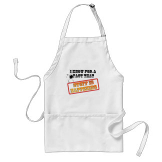 I know for a FACT Adult Apron
