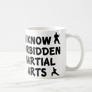 I Know Forbidden Martial Arts Coffee Mug