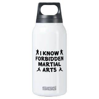 I Know Forbidden Martial Arts Insulated Water Bottle