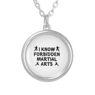 I Know Forbidden Martial Arts Custom Necklace