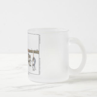 """I Know He Stole My Coffee"" Frosted Mug Small"