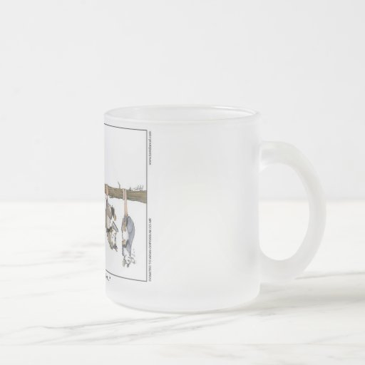 """""""I Know He Stole My Coffee"""" Frosted Mug Small"""