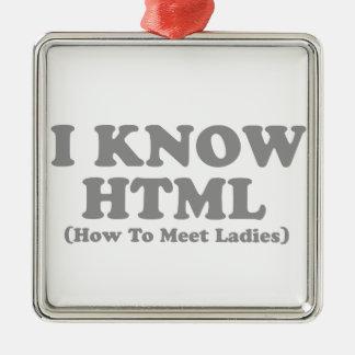 I know html metal ornament