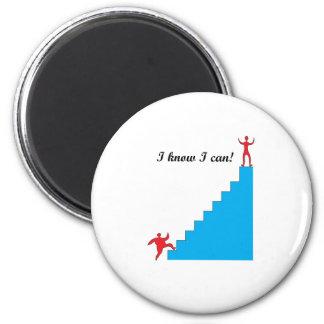 I know I can! Fridge Magnet