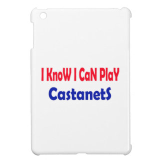 I know i can play Castanets. Cover For The iPad Mini