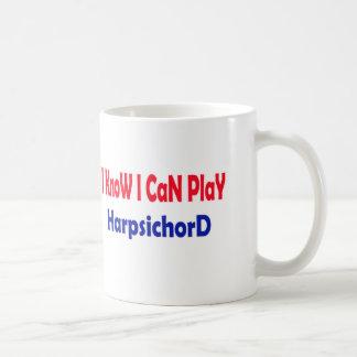 I know i can play Harpsichord. Coffee Mugs
