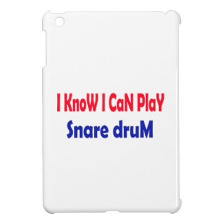 I know i can play Snare Drum. iPad Mini Cases