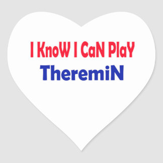 I know i can play Theremin. Stickers