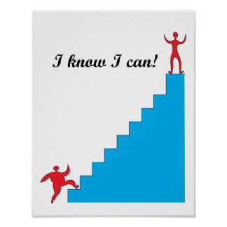 I know I can! Poster