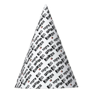 I know, I FAIS FAST - Word games Party Hat