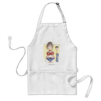 I know I'm a 12, I've always been a 12 Adult Apron