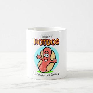 I Know I'm A Hotdog Mug
