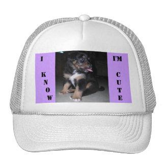 I  KNOW, I'm CUTE Trucker Hat