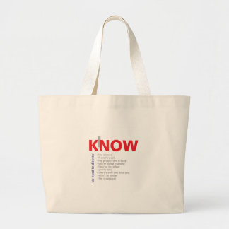 I Know It All Tote Bags