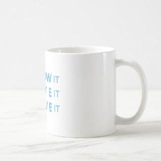 I Know It, I Live It, I Love It! Coffee Mug