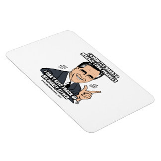 I KNOW IT'S HARD TO MANAGE YOUR FINANCES RECTANGULAR PHOTO MAGNET