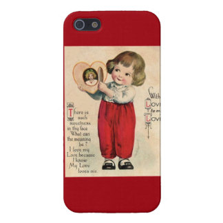 I Know My Love Loves Me Valentine's iPhone 5 Case