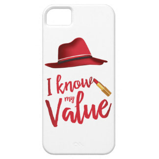 I Know My Value iPhone SE Case