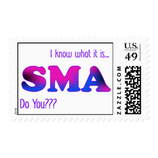 I Know SMA Postage