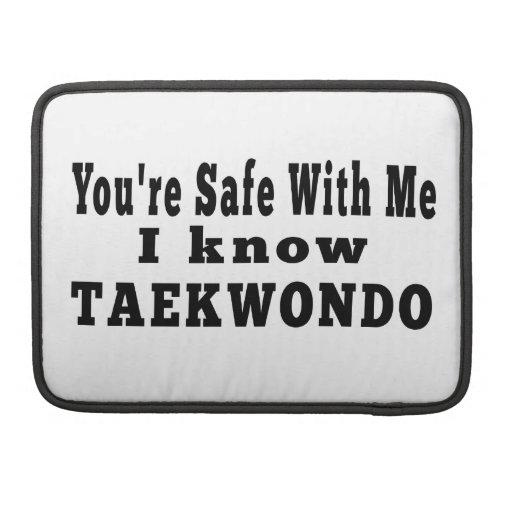 I know Taekwondo Sleeves For MacBook Pro