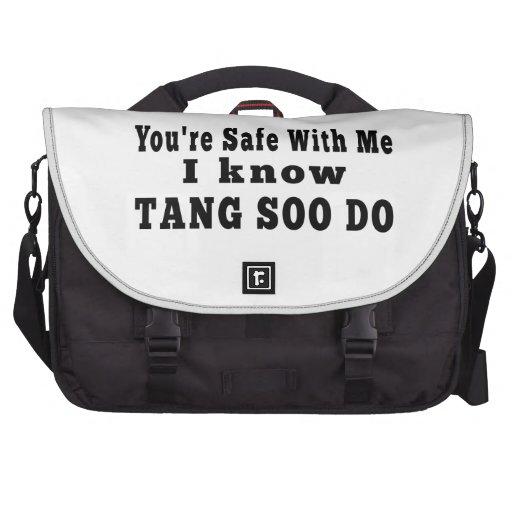 I know Tang Soo Do Laptop Bag