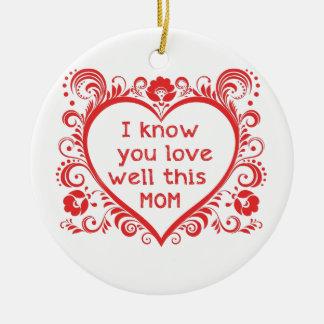 I know u love this mam christmas ornaments