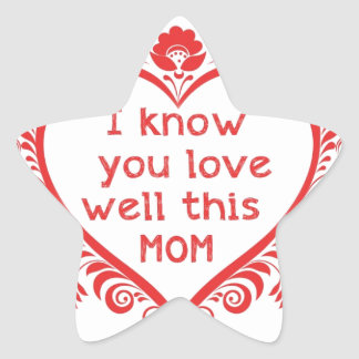 I know u love this mam star sticker