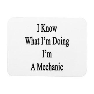 I Know What I m Doing I m A Mechanic Vinyl Magnets