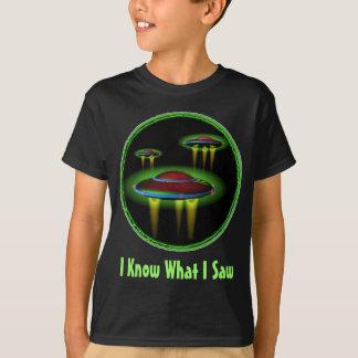 I Know What I Saw teen shirt