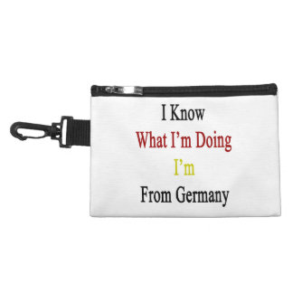 I Know What I'm Doing I'm From Germany Accessories Bag