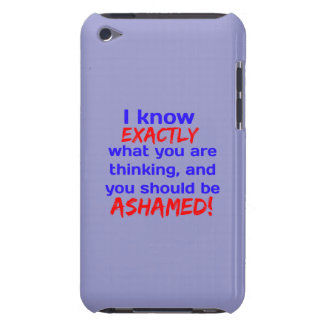"""""""I know what you're thinking..."""" Barely There iPod Case"""