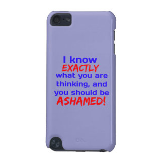 """""""I know what you're thinking..."""" iPod Touch 5G Case"""