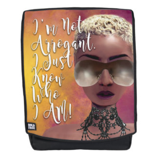 I Know Who I Am Affirmation Backpack