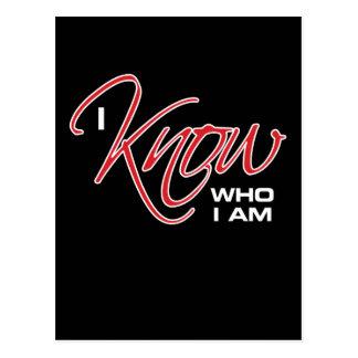 I Know Who I Am - Joel Osteen Postcard