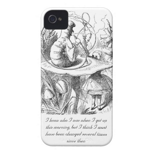 I Know Who I Was When I Got Up iPhone 4 Covers