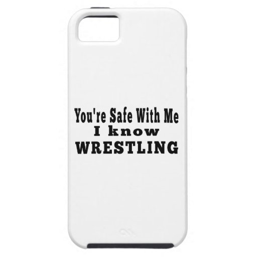 I know Wrestling iPhone 5 Cases