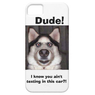 I know you aint texting in this car? iPhone cover