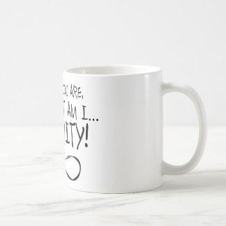 I Know You Are ... Infinity Coffee Mug