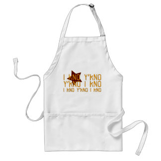 I know, you know! adult apron
