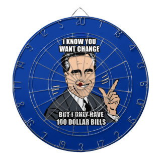 I know you want change but i only have 100 dollar dartboard with darts